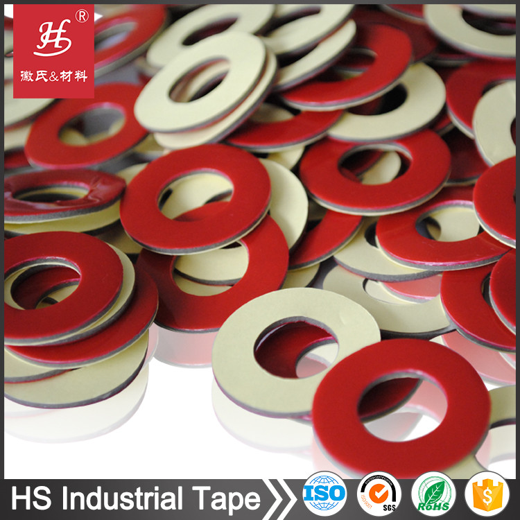Customized Industrial adhesive die cut circles