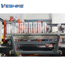 Factory supply full automatic stretch plastic pet bottle print link blow moulding machine