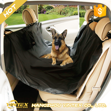 Outdoor Travel Quilted Plain or Print Non-Slip Pet Dog Car Protector Mat Cushion adjustable Seat Cover with custom pocket design