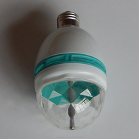 Colorful changed 3w led bulb