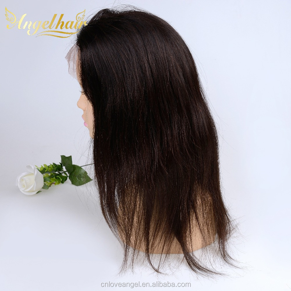 Brazilian human hair wigs with full lace real human hair lace front wig