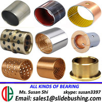 DYB 2 DE all kinds Sliding bearing,oilless bush,slide bushing