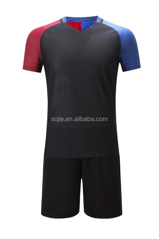 high quality color cheap plain soccer jerseys, soccer training pants