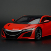 1:18 closed Acura NSX resin car model personal collection