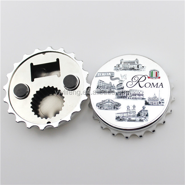 2017 Custom Roma Promotional Metal Bottle Opener