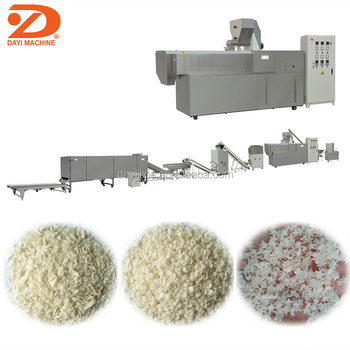 Dayi 2018 new products panko bread crumbs crusher machine production line
