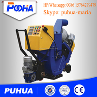 rubber cleaning machine manufacturer from China/floor shot blaster/road surface shot blasting machine