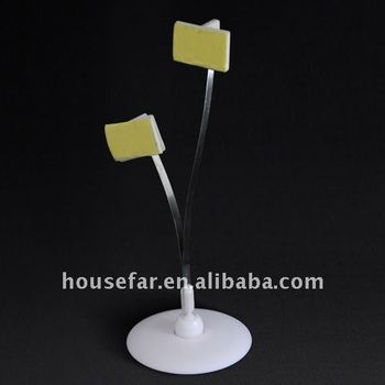 plastic mini POP wobbler for supermarket