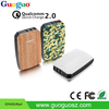2016 qualcomm certified quick charge QC 2.0 fast charging power bank 10000mah for cellular