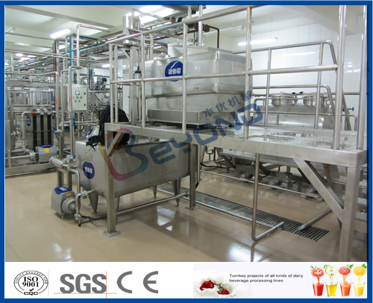Milk processing equipments for dairy production