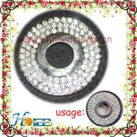 round shape rhinestone boots accessories