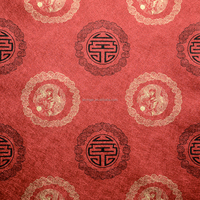 Levinger red glitter chinese character wallpaper chinese design wallpaper