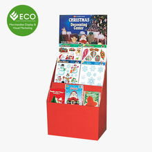 2017 Cheap Wholesale Cardboard Greeting Card Display Racks for Festival Product