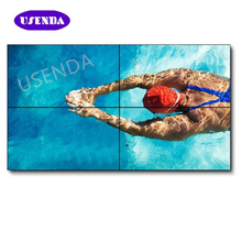 high quality 3.5mm lcd video screen 46 55 inch 3x3 seamless lcd TV Wall for shop shopping