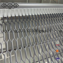 Curtain wall decoration wire mesh and stainless steel Expanded Metal Mesh ceiling