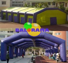 Giant inflatable balloon tent 20x12x5, large tent