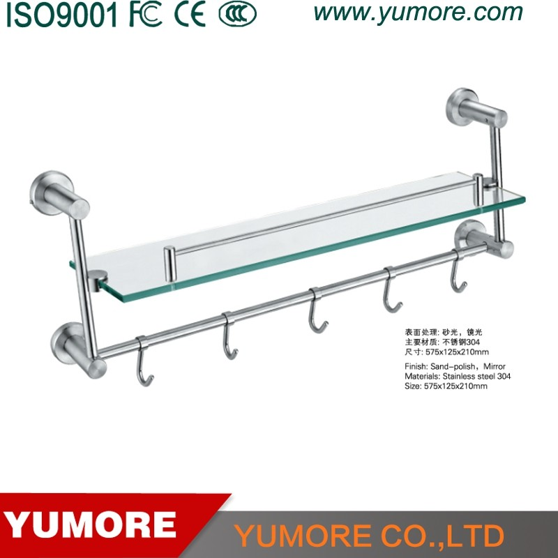 wall mounted bracket glass lowes bathroom corner shelves for shower