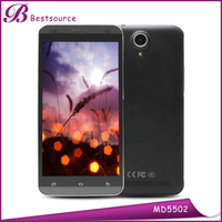 Hot Sale 5.5INCH Touch Screen Cell Phone Unlocked Dual Core Mtk6572 Android 4.4 touch screen lowest price cell phone