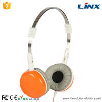 Plastic headphone covers 3.5mm wired popular stereo headphone