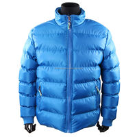 Cheap Men's winter basic Jacket /horizontal quilted jacket