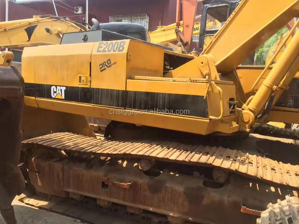 Used Japan Japanese E200B Crawler Excavator,Good Condition Digger 320BL E70B