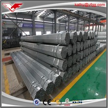 gal steel tube ! Q235 SCH80 galvanized round hollow section steel pipe