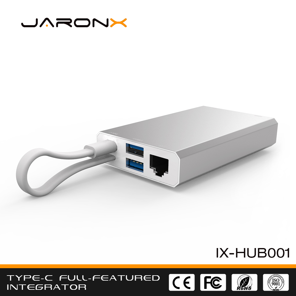 Best Quality Support ODM OEM Fully Functional Type-c Hub support 4K*2K 30HZ vedio output, usb c charging hub
