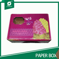 GRAPES PACKING BOXES,CORRUGATED FANCY DRY FRUITS BOX
