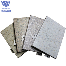 New products style curtain wall profile fireproof facade cladding anti-static aluminium solid panel