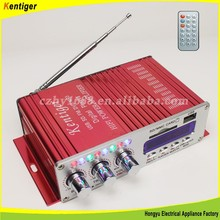 Kentiger V12 Professional combined power amplifier with bluetooth car amplifier