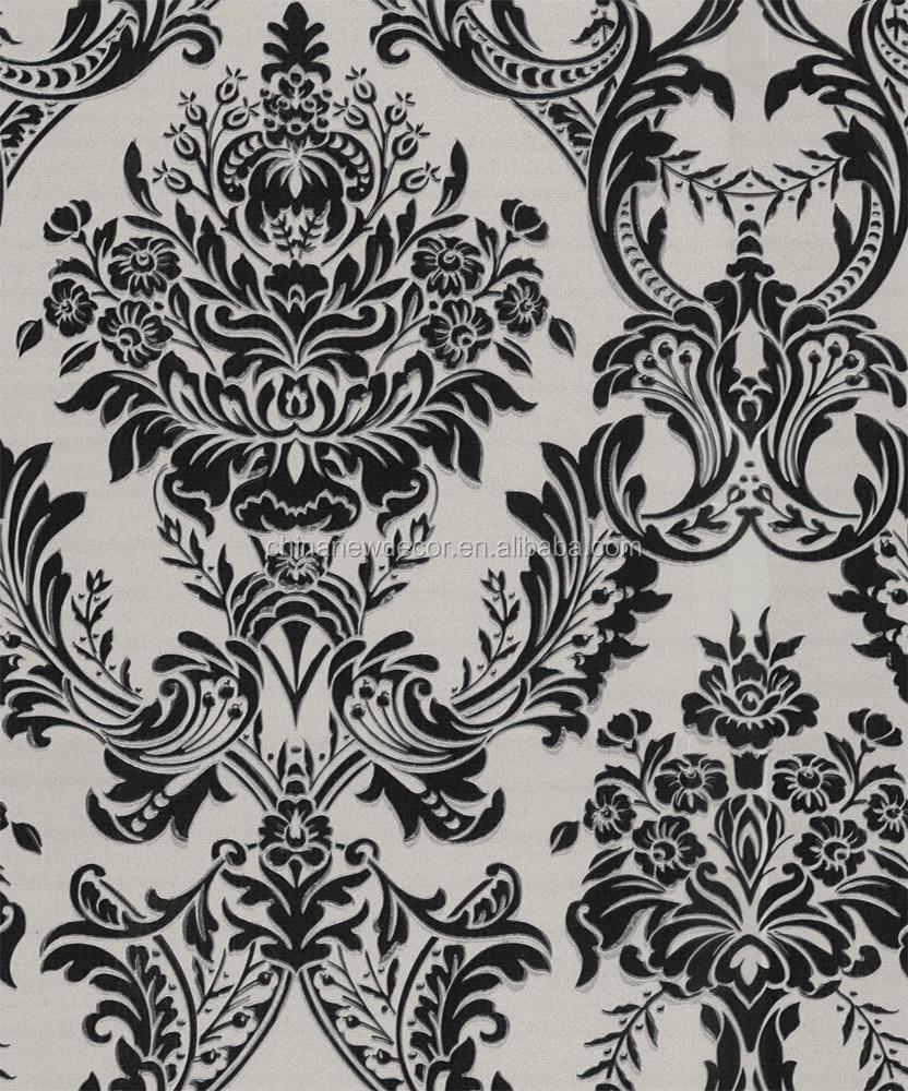 Desain Bunga Yang Indah Hitam Dan Putih Wallpaper Buy Product On
