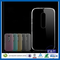 C&T Ultra Slim TPU Bumper Protective Case for Motorola Moto G 3