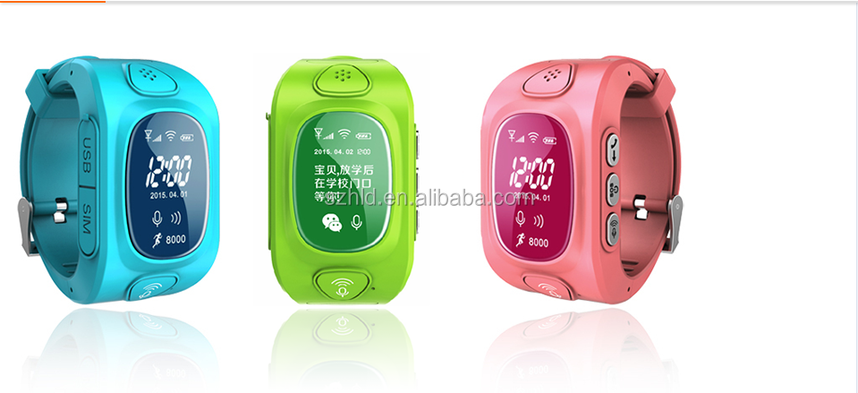 Child GPS tracker Q50 plus with sensor anti-lost smart watch
