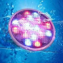 New product Wholesale CE 18W Par56 IP68 Waterproof <strong>RGB</strong> LED Swimming Pool Underwater Light with Remote Controller