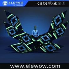 Cool changing lighting matrix control dj booth led pixel