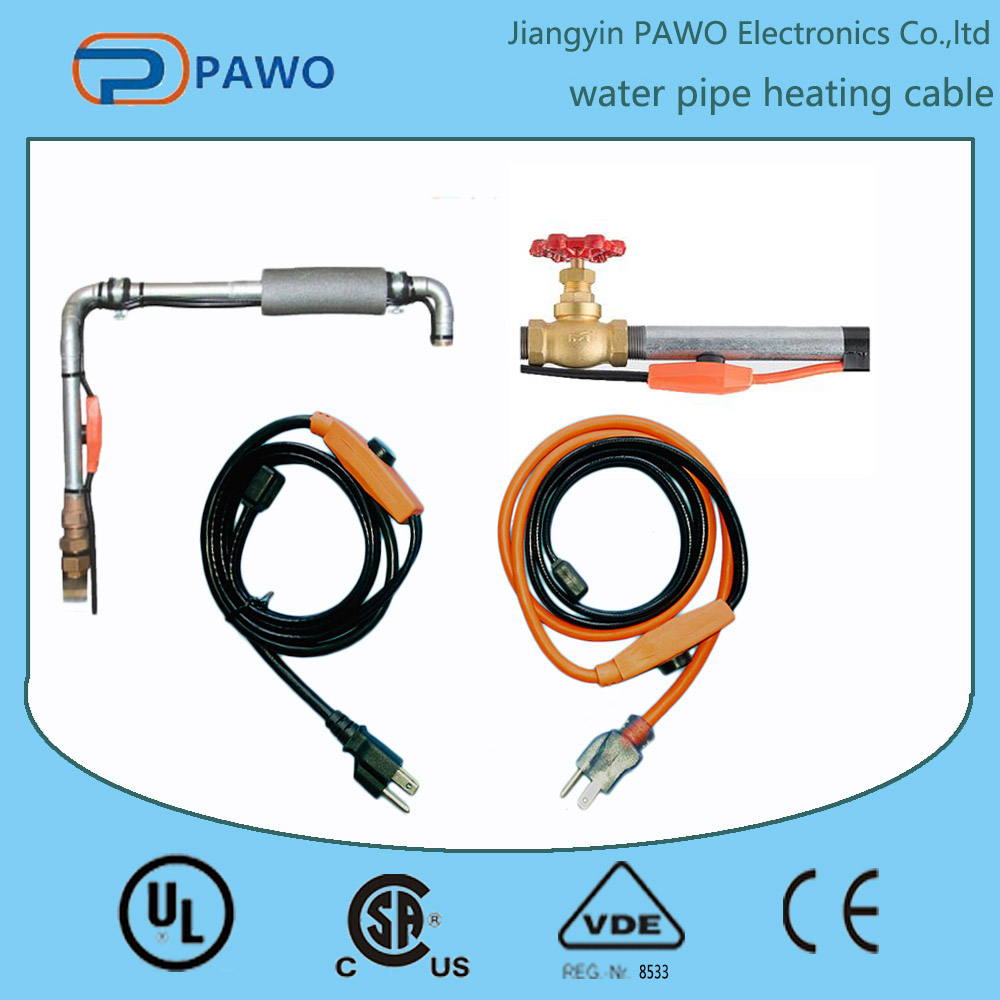 Defrost pipe heating cable for water pipe-2