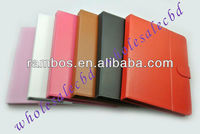 High quality 9.7 inch magnetic leather case for 9.7 inch tablet pc