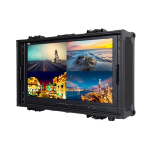 "28"" 4K(3840 x 2160) Ultra-HD Resolution Quad Split Display Carry-on Broadcast Director Monitor"