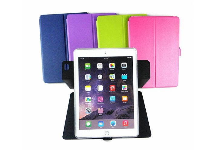 New design Voltage leather stand flip 360 degree rotate for ipad air 2 case in stock