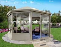 Modern Design Free Standing Aluminum Profile Insulated Glass Sun Room
