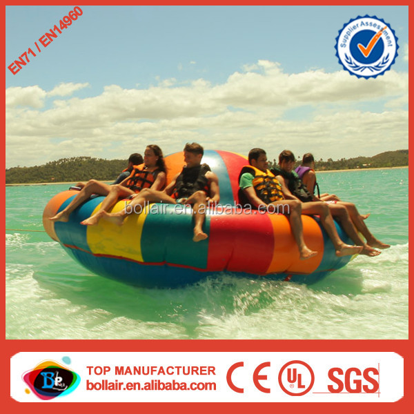 Super popular sea inflatable semi boat inflatable disco boat