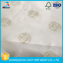 wholesale printed gold logo tissue paper