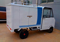 battery powered electric quadricycle/pickups/cargo van/four wheels cyclomotor/voiture for express/courier/logistics 4100003