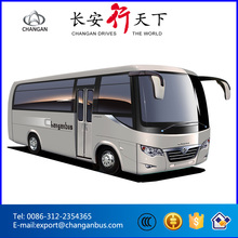 Inter-city bus 19-25 seats Changan mini bus Toyota coach SC6608BF with CNG engine