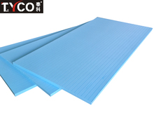 High Density Extruded Polystyrene XPS Rigid Foam Board Insulation in Buldiling