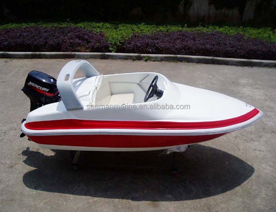 Hot sale! good quality 3.2m fiberglass high speed jet boat