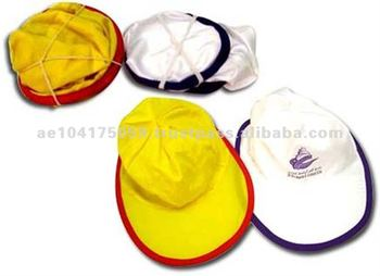 Foldable promotional hats