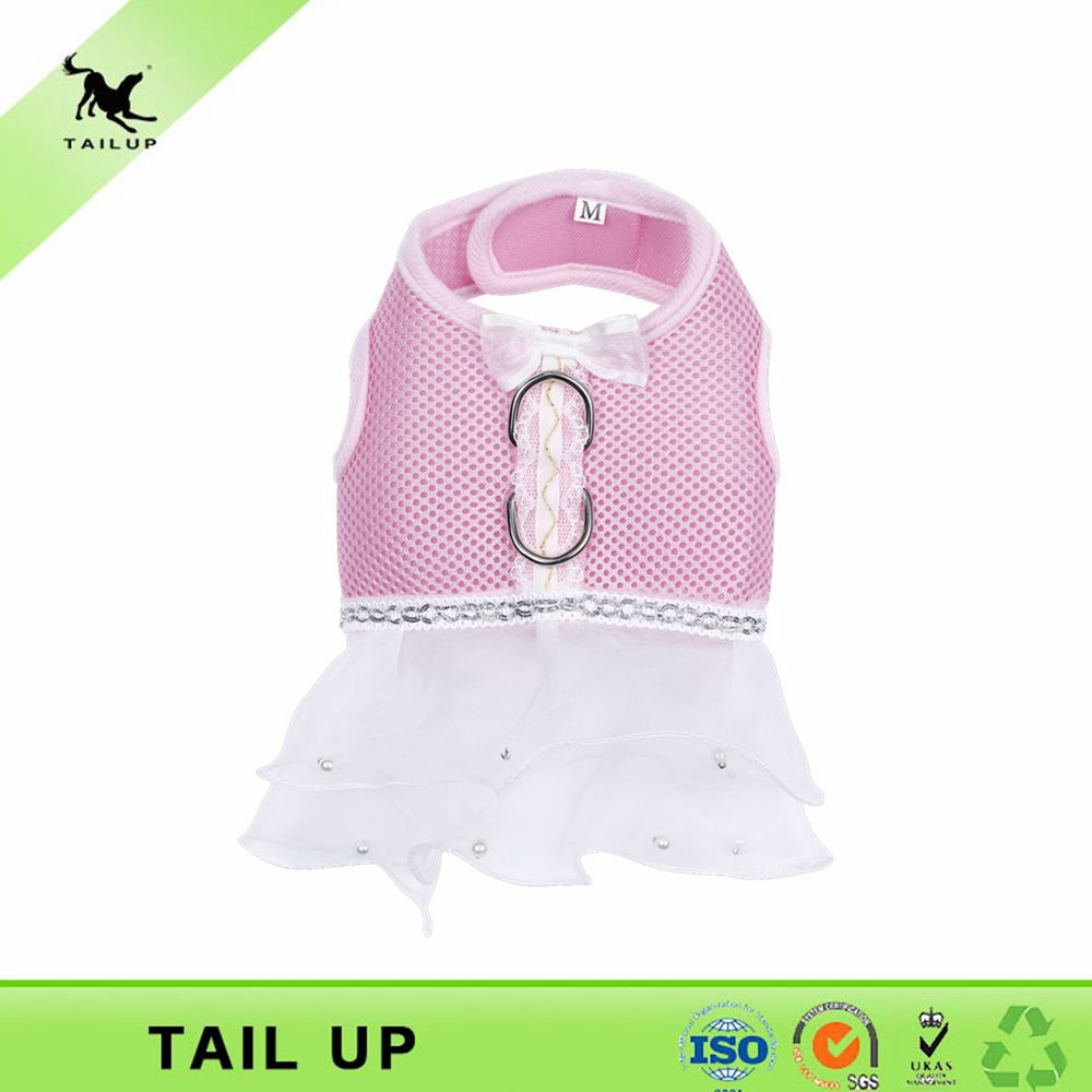 Wholesale lovable pet walking accessories small dog clothes