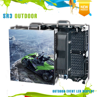 HD full color outdoor SMD P3.91/p4.81 rental stage leds display screen/ leds module standard cabinet