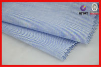 Yarn dyed stripe fabric for shirting linen cotton yarn dyed fabric